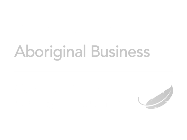 Certified Aboriginal Business Greyscale Logo